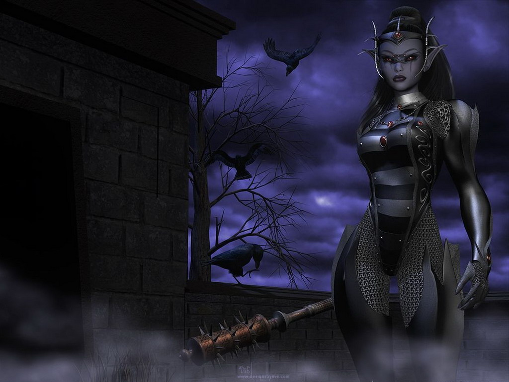 Dark elf pin up 3d hentay images
