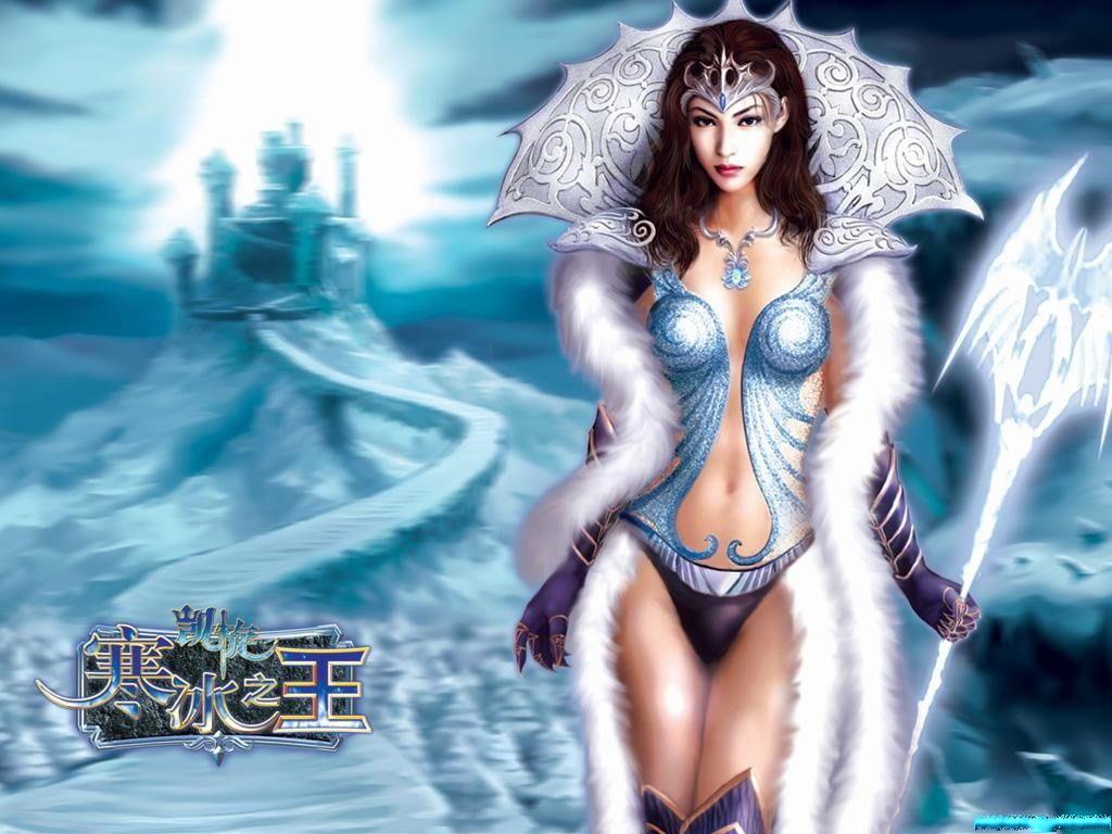 Эротическая снежная королева 17 фотография