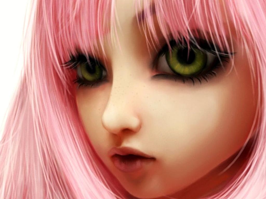 аниме розоволосые девушки: