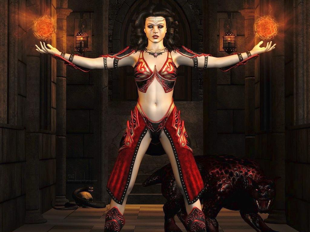 Ведьмаки, маги Fantasy_girls_1318