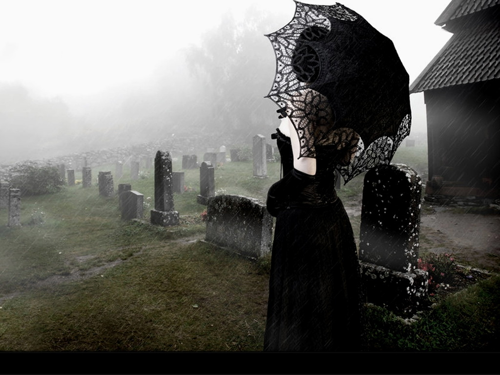 Готы эротические на кладбище фото 793-244