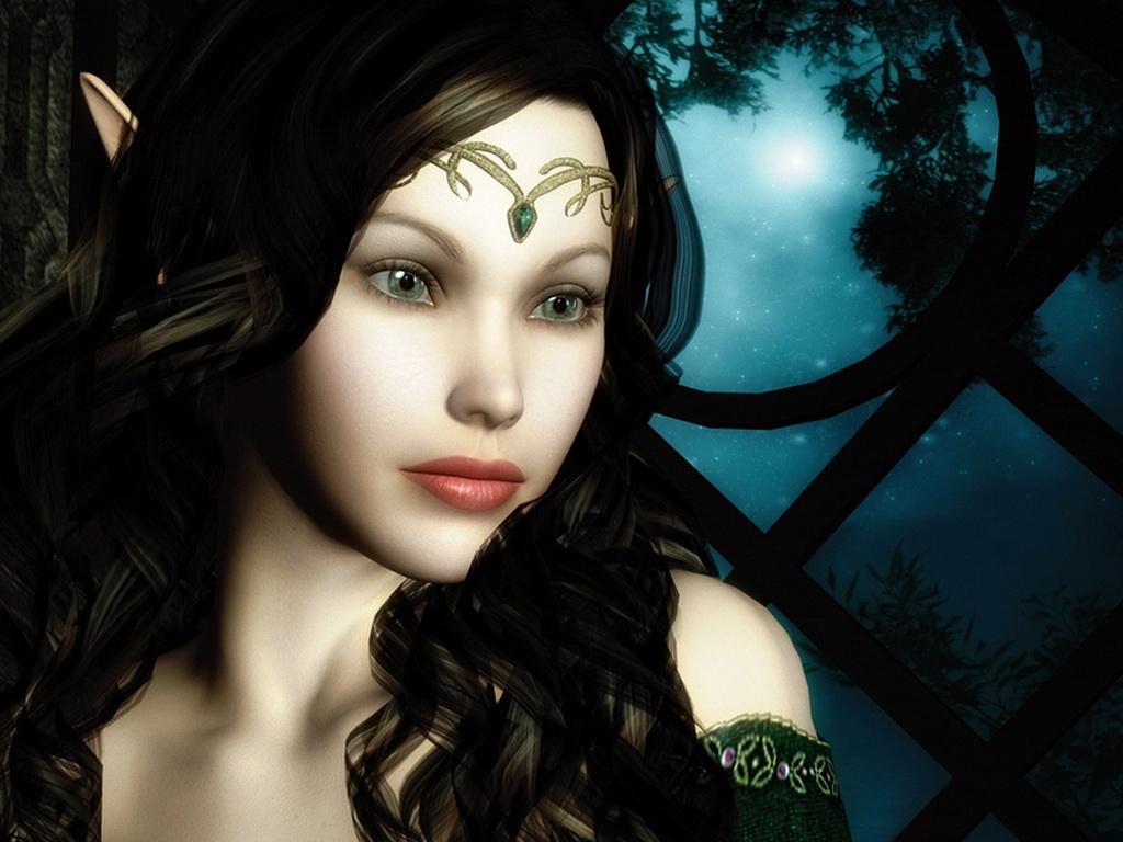 Лунная девушка красивые картинки
