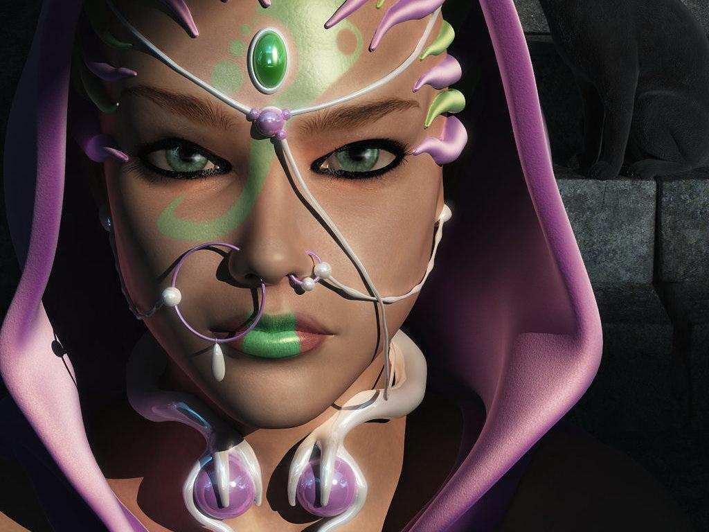 Женщины инопланетянки