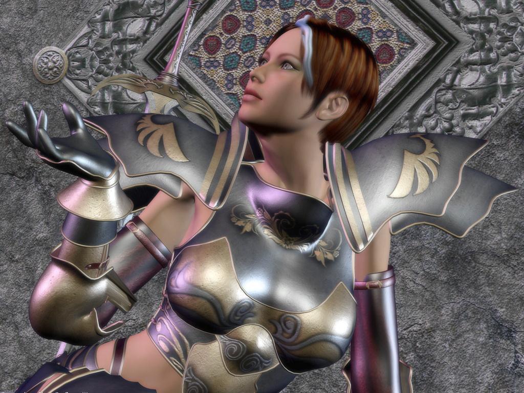 Сексуальные девушки рыцарских доспехах