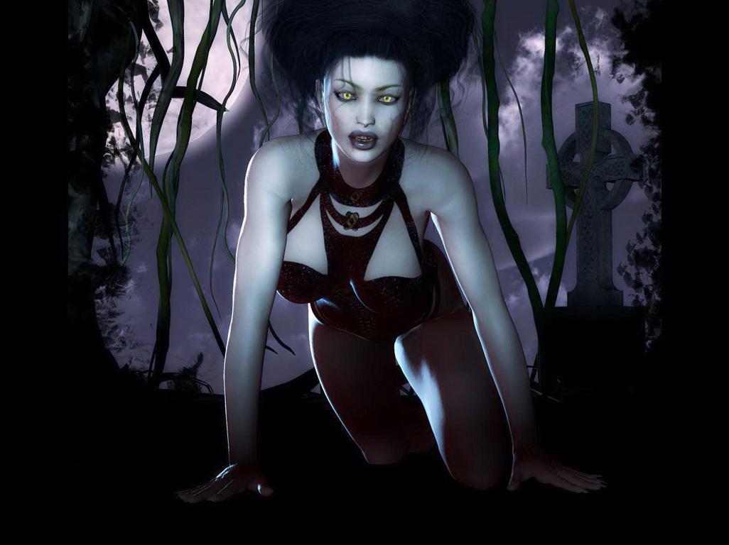 фэнтезийные девушки вампирши