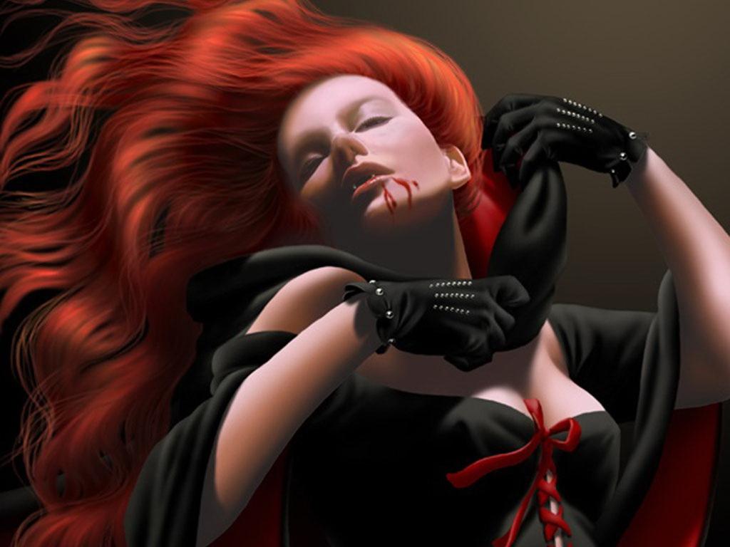 Фэнтезийные девушки вампирши фото 471-622