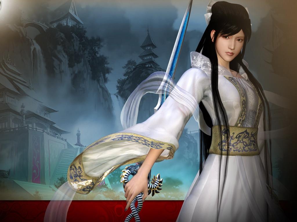 Китайская воительница